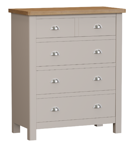 Richmond Painted Oak 2 Over 3 Chest